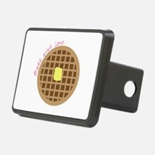 Waffle_Made With Love Hitch Cover