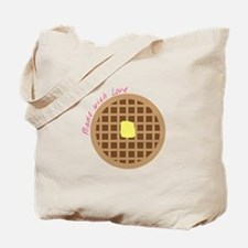 Waffle_Made With Love Tote Bag