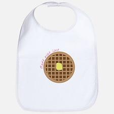 Waffle_Made With Love Bib