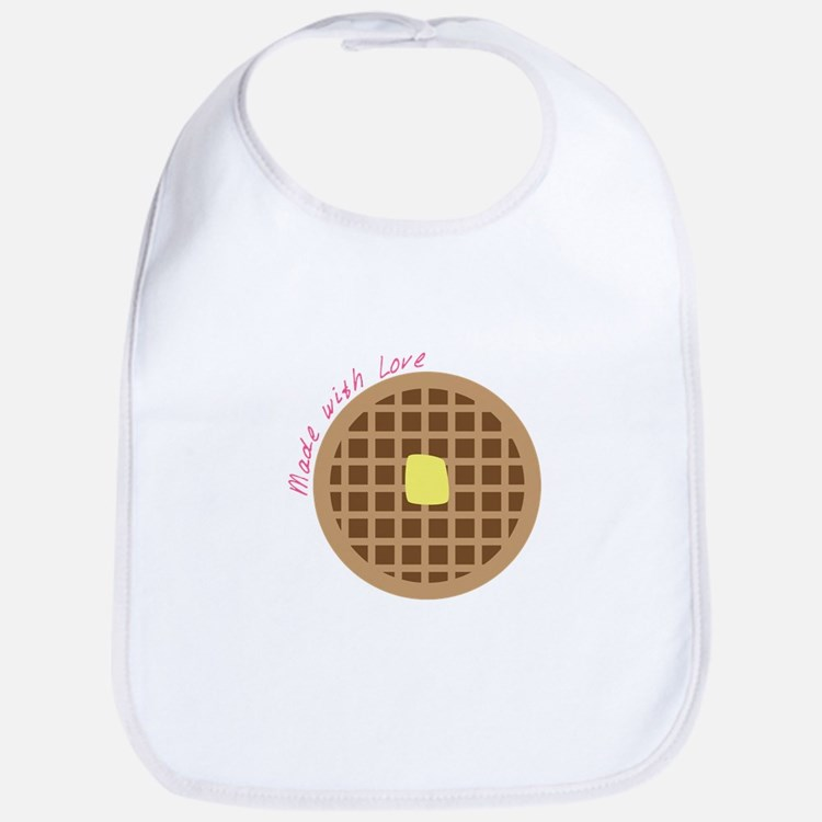 Waffle_Made With Love Bib