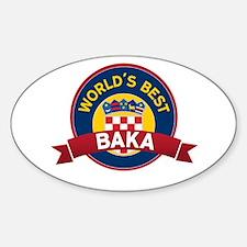World's Best Baka Decal