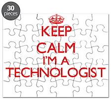 Keep calm I'm a Technologist Puzzle