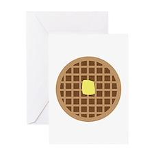Waffle_Base Greeting Cards