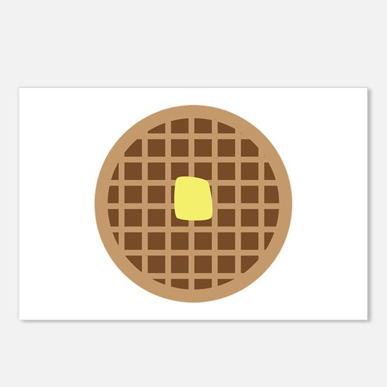 Waffle_Base Postcards (Package of 8)