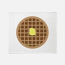 Waffle_Base Throw Blanket