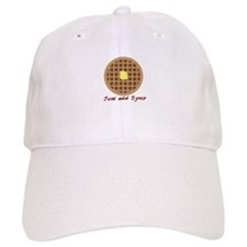 Waffle_Just Add Syrup Baseball Baseball Cap