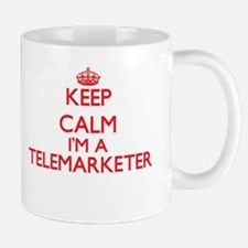 Keep calm I'm a Telemarketer Mugs
