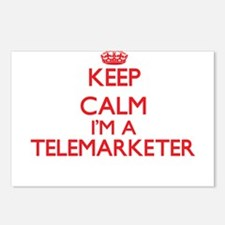 Keep calm I'm a Telemarke Postcards (Package of 8)