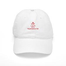 Keep calm I'm a Telemarketer Baseball Cap