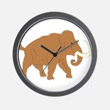 Woolly Mammoth Wall Clock