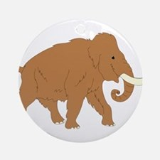 Woolly Mammoth Ornament (Round)
