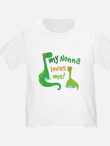 My Nonna Loves Me Dinosaur T
