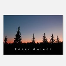 Idaho: Coeur d'Alene Postcards (Package of 8)