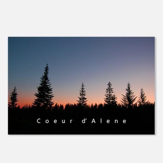 Idaho: Coeur d'Alene Postcards (Package of 8)