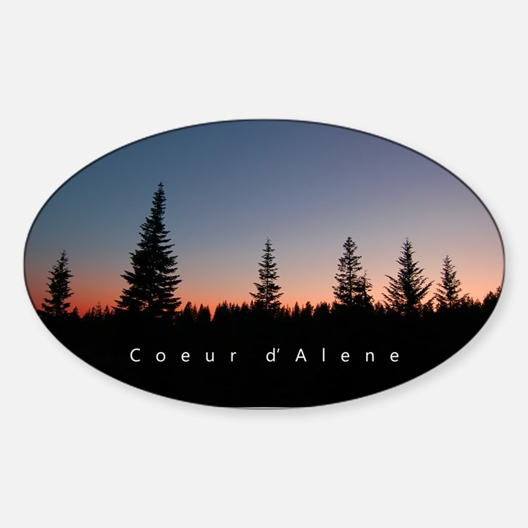 Idaho: Coeur d'Alene Decal