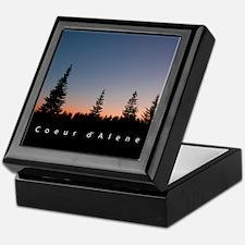 Idaho: Coeur d'Alene Keepsake Box