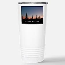Idaho: Coeur d'Alene Stainless Steel Travel Mug