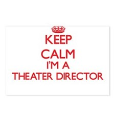 Keep calm I'm a Theater D Postcards (Package of 8)