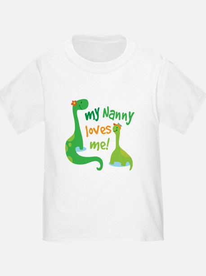 My Nanny Loves Me Dinosaur T