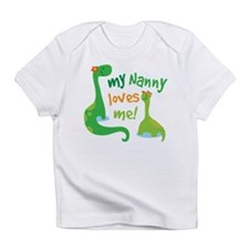 My Nanny Loves Me Dinosaur Infant T-Shirt