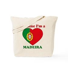 Madeira, Valentine's Day Tote Bag
