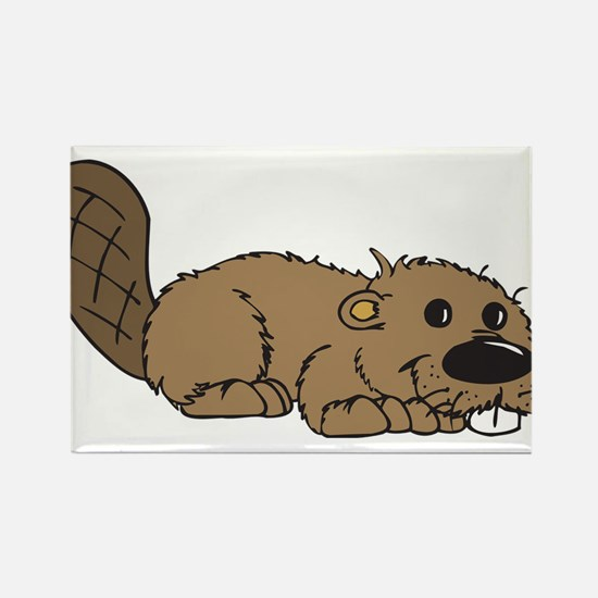 Adorable Beaver Magnets