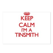Keep calm I'm a Tinsmith Postcards (Package of 8)