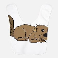 Adorable Beaver Bib