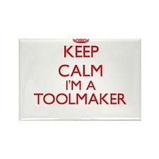 Keep calm I'm a Toolmaker Magnets