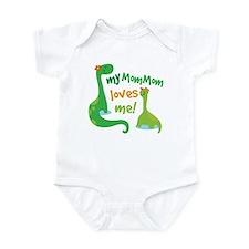 My MomMom Loves Me Dinosaur Infant Bodysuit