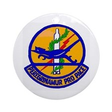 390th Missile Inspection Ornament (round)
