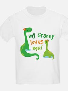 My Granny Loves Me Dinosaur T-Shirt