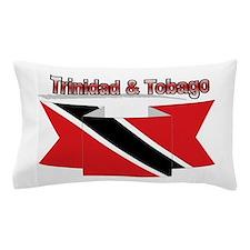 Trinidad flag ribbon Pillow Case