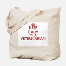 Keep calm I'm a Veterinarian Tote Bag