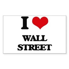 I love Wall Street Decal