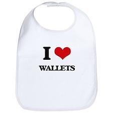 I love Wallets Bib
