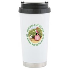 MARY HAD A LITTLE LAMB Travel Mug