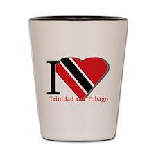 I love Trinidad Shot Glass