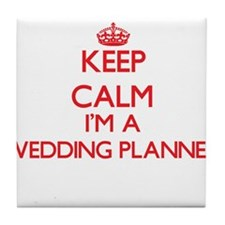Keep calm I'm a Wedding Planner Tile Coaster