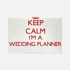 Keep calm I'm a Wedding Planner Magnets