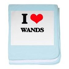 I love Wands baby blanket