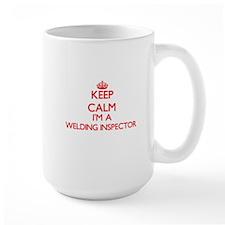 Keep calm I'm a Welding Inspector Mugs
