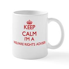 Keep calm I'm a Welfare Rights Adviser Mugs