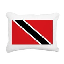 Trinidad flag Rectangular Canvas Pillow