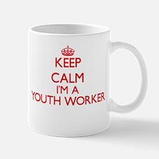 Keep calm I'm a Youth Worker Mugs