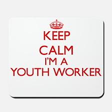 Keep calm I'm a Youth Worker Mousepad