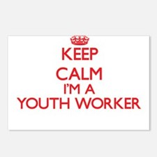 Keep calm I'm a Youth Wor Postcards (Package of 8)