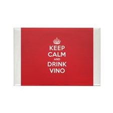 Cute Vino Rectangle Magnet