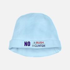 No Bush No Clinton baby hat