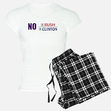 No Bush No Clinton pajamas